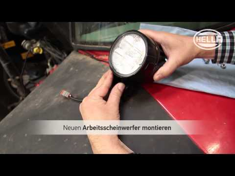 Umrüstung auf LED-Arbeitsscheinwerfer von HELLA