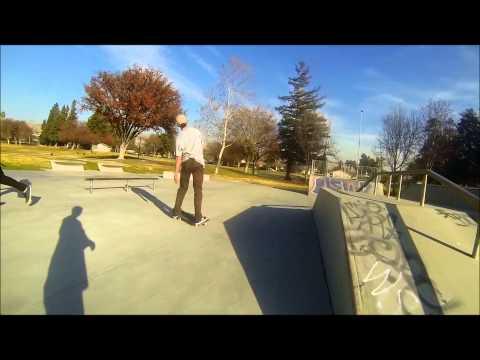 Great Oaks Skatepark: New Years Eve 2013