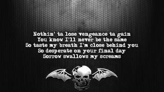 Avenged Sevenfold - Strength Of The World [Lyrics on screen] [Full HD]