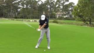 Ernie Els slow motion swing sequence