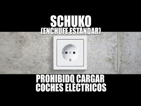 Prohibido cargar coches eléctricos en un enchufe estándar (schuko)... ¿o no?