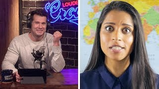 REBUTTAL: Superwoman's Ironically Racist 'Geography for Racist People' | Louder With Crowder | Kholo.pk