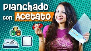 Pixelexip 17 :: ¿Planchar Hama Beads con mica especial o acetato de papelería? DIY - Angry Birds