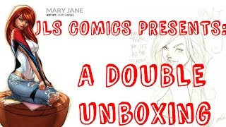 Double Unboxing Some J Scott Campbell Comic Books!! Crossed #11 Off My Top 10 List
