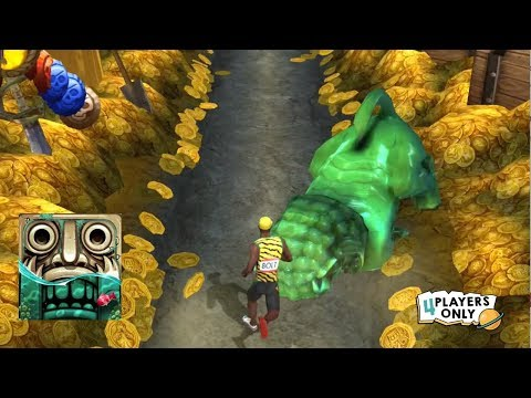 Temple Run 2 Pirate Cove DOUBLOON DASH First Global Challenge