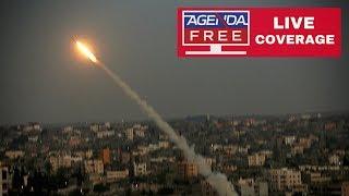Israel Airstrikes & Gaza Rocket Attacks - LIVE COVERAGE