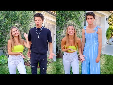 I LET MY SISTER PICK MY OUTFITS FOR A WEEK | Brent Rivera
