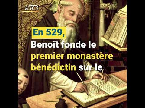 Vidéo de Benoît de Nursie