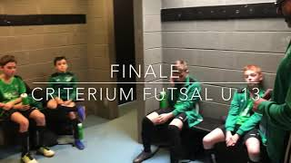Finale criterium Futsal U 13