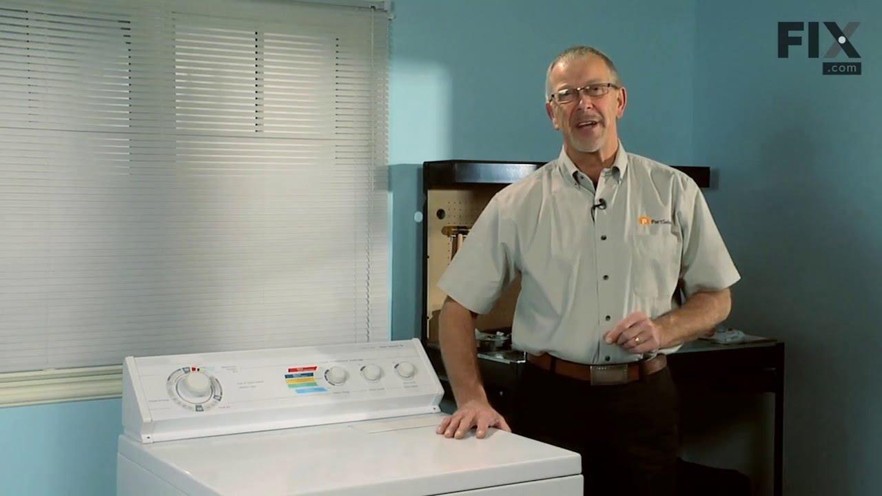 Replacing your Kenmore Dryer Door Catch Kit