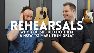 Rehearsals: Why to do them and how to make them great // Worship Leader Wednesday
