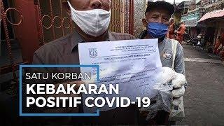 Korban Kebakaran yang Positif Covid-19 di Tanjung Priok Sempat Tutupi Hasil Rapid Test nya