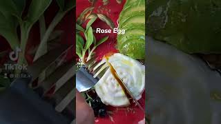 How to make a running rose egg?