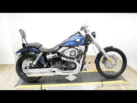 2012 Harley-Davidson Dyna® Wide Glide® in Wauconda, Illinois