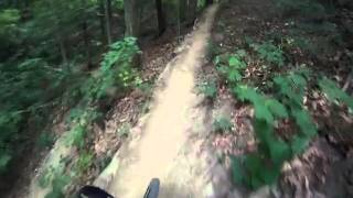Trails 2b and 3 at Kickapoo State Park-Go Pro Helmet cam