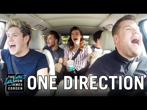James Corden has Niall Horan, Louis Tomlinson, Liam Payne and Harry Styles join him for a carpool through Los Angeles singing some of their biggest songs ...