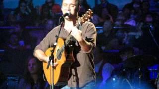 Dave Matthews sings Rye Whiskey at Pete Seeger's 90th Birthday Celebration