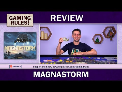 Magnastorm - A Gaming Rules! Review