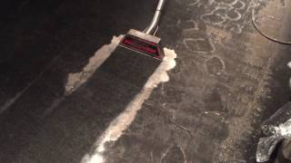 XL North - Heavily Soiled Restaurant Carpet Cleaning Demo