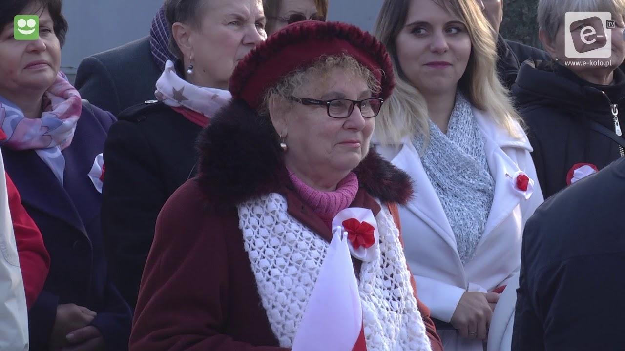 Obchody 100-lecia Odzyskania Niepodległości w Kłodawie