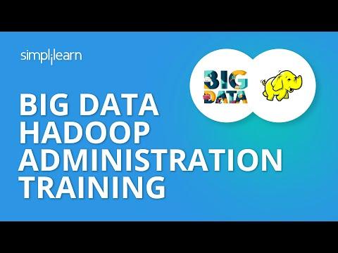 Big Data Hadoop Administration Training | Big Data ... - YouTube