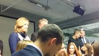 Ющенко у Варшаві