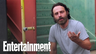 The Walking Deads Andrew Lincoln Talks About Rick Grimes Beard | Entertainment Weekly
