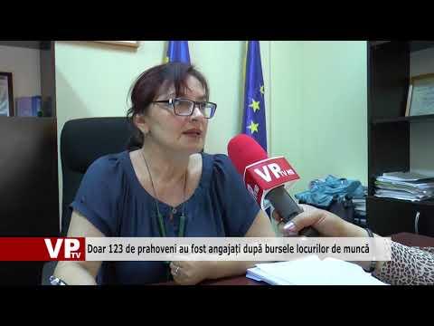 Doar 123 de prahoveni au fost angajați după bursele locurilor de muncă