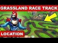 """COMPLETE A LAP OF A GRASSLANDS RACE TRACK"" - LOCATION Week 5 Challenges Fortnite Season 9"