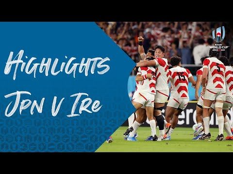 HIGHLIGHTS: Japan v Ireland - Rugby World Cup 2019
