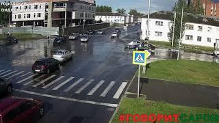 ДТП, Саров, перекресток ул Зернова ул Арзамасская, 7 июня 2018