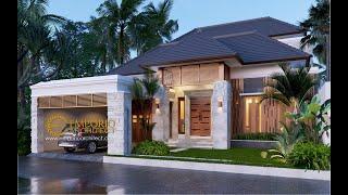 Video Desain Rumah Villa Bali 2 Lantai Bapak Dwi Harsono di  Jawa Tengah