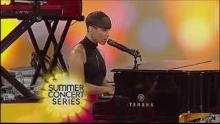 Alicia Keys ,HD,  Listen To Your Heart & No One , live  Good Morning America ,full,HD 1080p