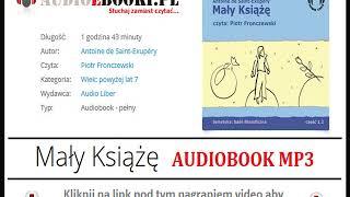 MAŁY KSIĄŻĘ   AUDIOBOOK MP3 - Książka Audio czyta: Piotr Fronczewski. (pobierz).