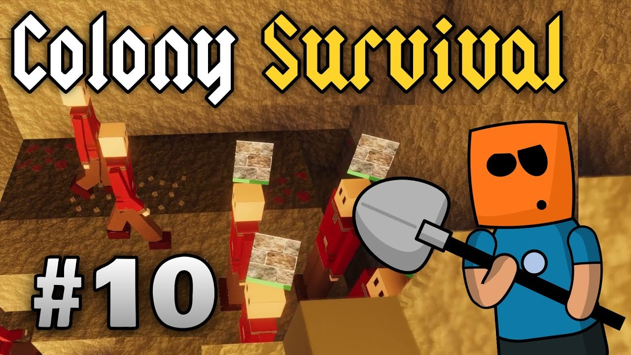 Colony Survival ep10 | Diggers Debacle Fail