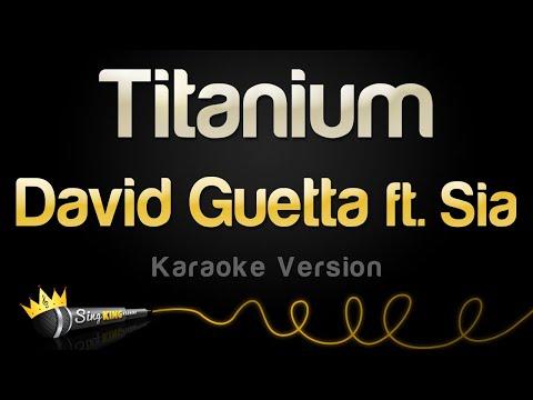 David Guetta ft. Sia – Titanium (Karaoke Version)