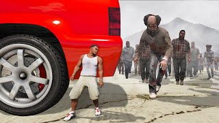GTA 5 - SMALLEST MAN in a ZOMBIE Outbreak! (Survive)