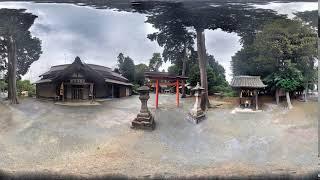 360VR淡洲神社豊川市愛知県二枚目のスライドは菅原神社