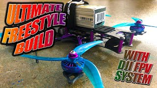 DJI FPV HD DIY Ultimate Freestyle Drone Build - 6S Beast!