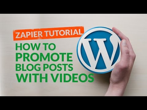 How to Promote a Blog Post with A Personalized Video