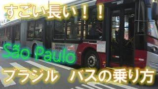 ブラジルサンパウロ「バスの乗り方」