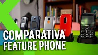 TELÉFONOS para MAYORES: la COMPARATIVA DEFINITIVA