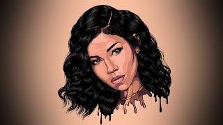 Jhené Aiko Speed Digital Art (Adobe Illustrator)