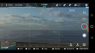 FIMI X8 FPV Gimbal 1016E test flight to check horizon level May 30