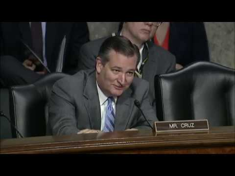 Sen. Cruz Questions Google Executive on Search Engine's Bias & Chinese Censorship