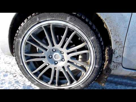 Scion xD - View of the TRD rims