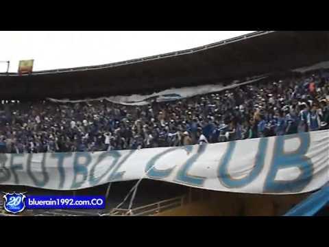 """Blue Rain Millonarios"" Barra: Blue Rain • Club: Millonarios"