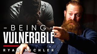 BEING VULNERABLE - Is It Ok For A Man To Show Vulnerability And Cry? | Ryan Michler On London Real