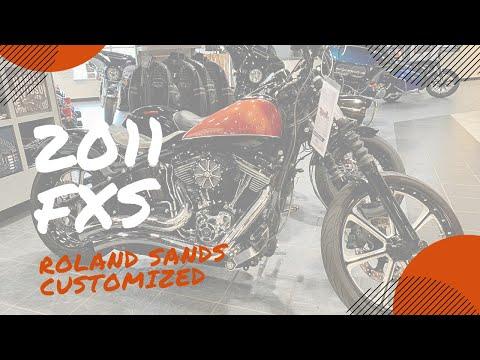 2011 Harley-Davidson Softail® Blackline™ in Portage, Michigan - Video 1