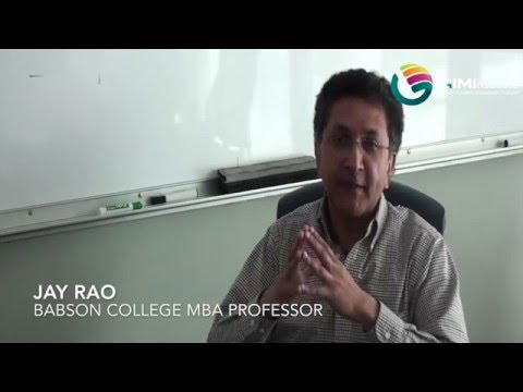 Innovation in Education by Jay Rao, Babson College MBA Professor